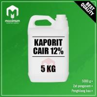 Sodium Hypo / Sodium Hypochlorite / Kaporit Cair 12% - 5 Kg
