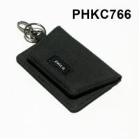 dompet stnk mobil motor gantungan kunci kain warna hitam - PHKC766