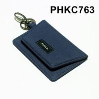 dompet stnk mobil motor gantungan kunci kain biru tua - PHKC763