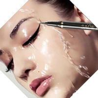 Eyeliner pensil mata waterproof sace lady