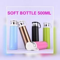 Termos air panas - botol tempat air panas soft cup 500ml
