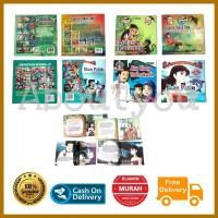 Buku cerita legenda RAKYAT dongeng anak bahasa Indonesia warna 24 hal