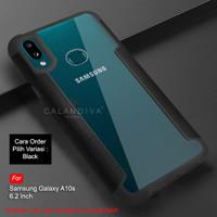 Calandiva Samsung A10s Hard Case Casing Transparent Airbag Hybrid