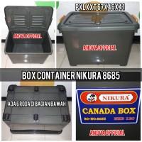 BOX CONTAINER NIKURA CANADA. 8685. ABU HIJAU. SETARA SHINPO CB 82