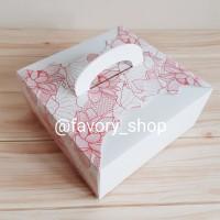 Cake Box 22 Flower / Box Tart / Cake Box / Box Kue Imlek / Box CNY