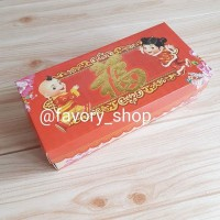 Box Imlek 12x25 Fu / Box Kue Imlek / Box CNY