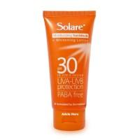 Solare Moisturizing Sunblock SPF 30 75g Pencerah Kulit Berminyak SPF30