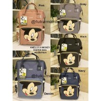 Tas Anello Mickey Diaper Bag Limited Anniversary / Tas Baby Anello