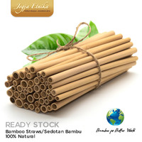 Sedotan Bambu / Bamboo Straw / Stik Bambu