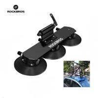 ROCKBROS XP1001 Car Roof Top Bike Carrier - Rak Angkut Sepeda - BLACK
