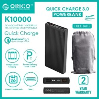 Powerbank Orico K10000 Universal Fast Charging 10000 Mah