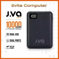 JVA tech 10000mAh Powerbank Dual Output Include A to C Cable