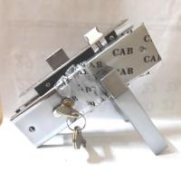 kunci pintu sedang / kunci pintu tanggung/ handle sedang model kotak