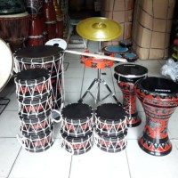 marawis batik kulit hitam lengkap12 alat