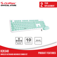 CLIPtec RZK340 / Young Air Wireless Keyboard and Mouse Combo Set Promo