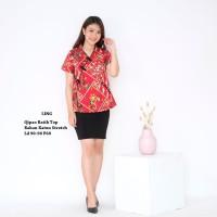 Top Batik Baju Atasan Qipao Wanita Cheongsam Imlek Casual Formal LING
