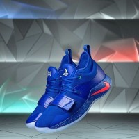 Nike Paul George PG 2 x Playstation Blue Premium Original /sepatu pria