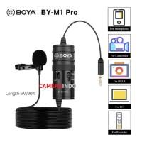 Mic BOYA BY-M1 PRO Clip On Mic Camera Smartphone PC vlog video