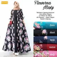Gamis Motif Bunga Terbaru Gamis Bunga Bunga 2019