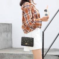 Tas selempang remaja Sling bag fashion wanita gilter bintang DIOP