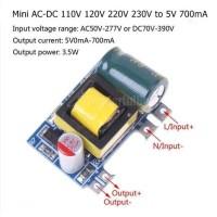 Mini AC-DC 110V 120V 220V 230V to 5V 700mA converter