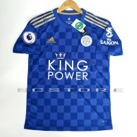Jersey Leicester City Home FULL PATCH PL 2019/2020 Grade Ori