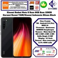 Xiaomi Redmi Note 8 6GB/128GB Ram 6 Rom 128 GB Garansi Resmi TAM-Black