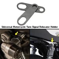 plat pelat bracket braket lampu led sen rem motor custom variasi modif