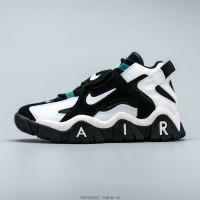 Sepatu branded Nike air jordan retro putih hitam
