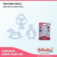 Reliable Teether Kecil ( Full Silikon ) BPA FREE