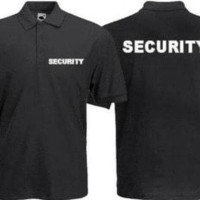 BARU Kaos Kerah Polo Security / Polo Tshirt Security / polo tshirt