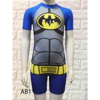 Baju renang Diving Anak Batman Premium - M