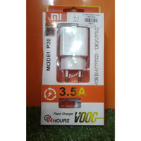 charger casan travel charger cas VOOC XIAOMI,OPPO,VIVO 1 USB New (P20)