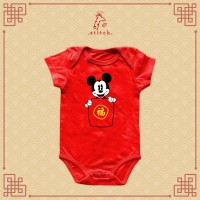 Mickey Hong Bao Chinese New Year Baby Jumper   Baju Imlek Miki Tikus