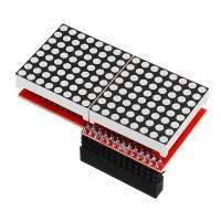 Sos 3 pcs 8x16 MAX7219 LED Dot Matrix Layar Modul Untuk Arduino