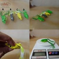 promo AMW jump soft frog umpan kodok tiruan 5.5cm 12gr