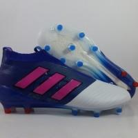 Sepatu Bola Adidas ACE 17 Purecontrol Blue White Pink FG Replika I