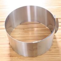 MOUSSE RING Stainless Steel/Round Cake/Cetakan Bulat Loyang Kue