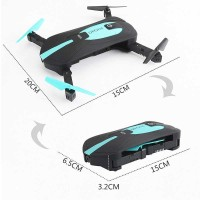 JUN YI TOYS Elfie FPV Quadcopter Drone WiFi 2MP 720P Camera - JY018