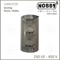 SALE Kapasitor - Capacitor Starting 250 Uf - 450V - Par