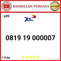Nomor Cantik XL seri abab 1919 Panca 00000 08 1919 000007 prm99
