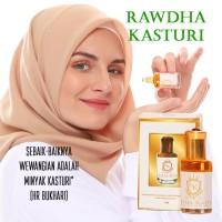 Parfum Minyak Kasturi Kuning Roll On Parfum Non AlkoholRawdha Kasturi