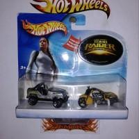 Hot Wheels Movie Tomb Raider Lara Croft Jeep Dan Motor