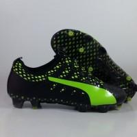 Sepatu Bola Puma Evopower Vigor 1 Black Green FG Replika Impor onde