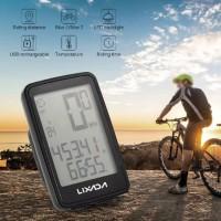 Pengukur kecepatan sepeda wireless usb Speedometer
