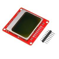 Sos 5110 84x48 Modul Tampilan LCD Backlight Putih Untuk Arduino