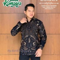 Arieswara Kemeja Batik Solo Lengan Panjang Kanaya