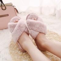 FUR Home Slippers Sandal Rumah Sendal Tidur Bulu
