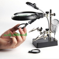 komplit paket alat teknisi solder pegangan service jam handphone acc