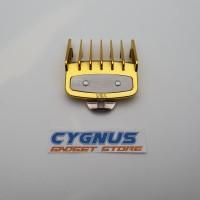 Sepatu Clipper WAHL / Attachment Comb WAHL ukuran no 1.5 / 4.5mm GOLD